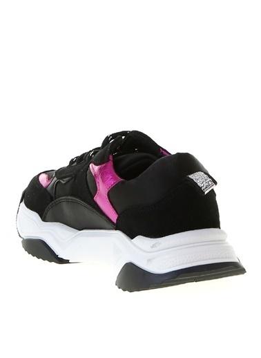Limon Company Limon Siyah - Fuşya Kız Çocuk Yürüyüş Ayakkabısı Siyah